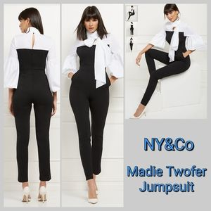 NY&Co Madie Twofer Jumpsuit
